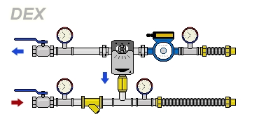 схема DEX-H40-4.0-20PTm4