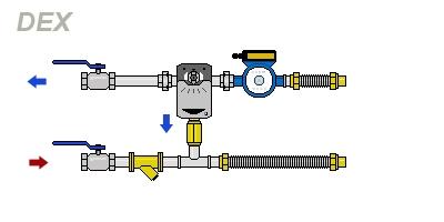 схема DEX-H40-1.0-20P