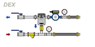 схема DEX-H80-16-32PTm2