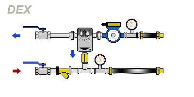 схема DEX-H120-16-32PTm2