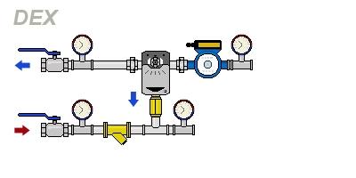 схема DEX-H120-40-50Tm4