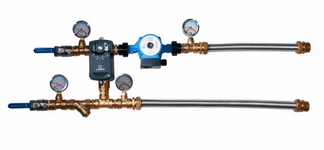 Смесительные узлы для водяных калориферов