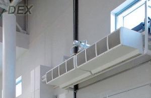 Преимущества использования водяных узлов для тепловых завес